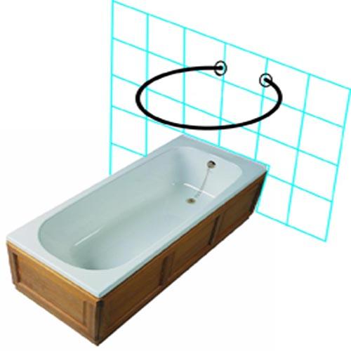 Shower Rail Mini O Byretech Ltd