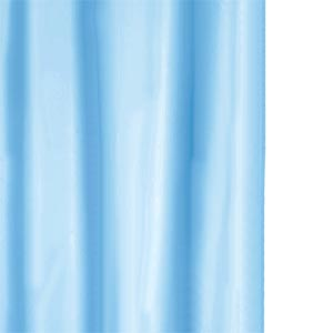 Industrial Pipe Curtain Rods Country Blue Shower Curtain