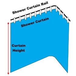 Made To Measure Shower Curtains