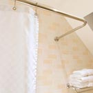 Stainless Steel Shower Rails