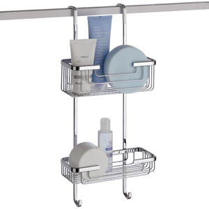 Hanging 2 Tier Shower Caddy