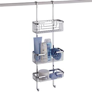 hanging 3 tier shower caddy byretech ltd. Black Bedroom Furniture Sets. Home Design Ideas