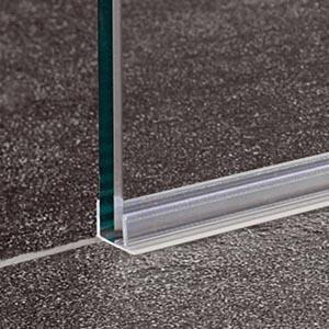 Charmant Coram Glass Shower Panel Acrylic Seal