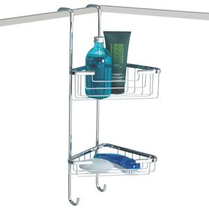 Corner Hanging 2 Tier Shower Caddy Byretech Ltd