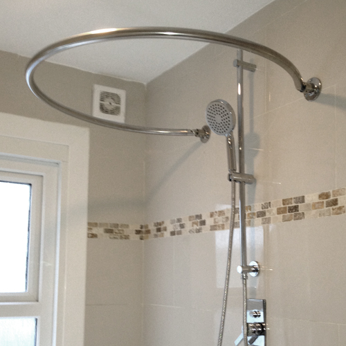 Shower Rail Mini O Byretech Ltd