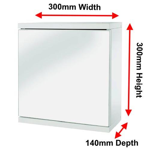 Simplicity Single Door Cabinet Byretech Ltd