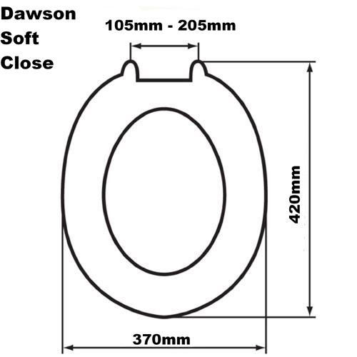 Dawson Sit Tight Soft Closetoilet Seat Byretech Ltd