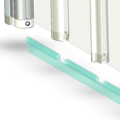 coram replacement seal folding screens byretech ltd. Black Bedroom Furniture Sets. Home Design Ideas