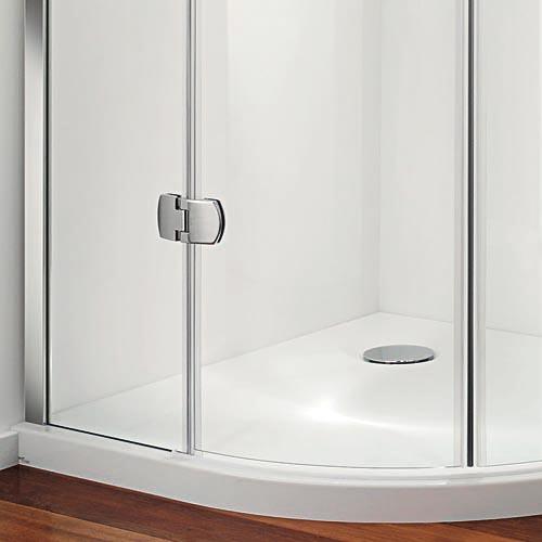 Premier Frameless Offset Quadrant Door Byretech Ltd
