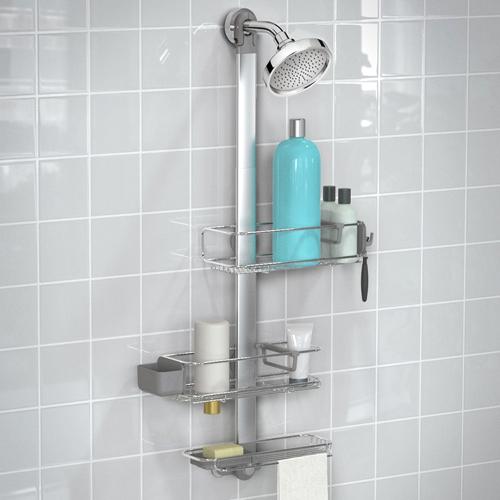 Simplehuman Adjustable Shower Caddy Plus Byretech Ltd