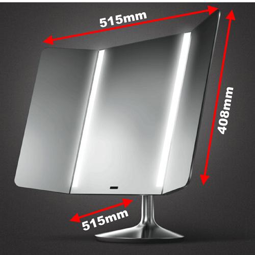 Simplehuman Sensor Mirror Pro Wide View Byretech Ltd